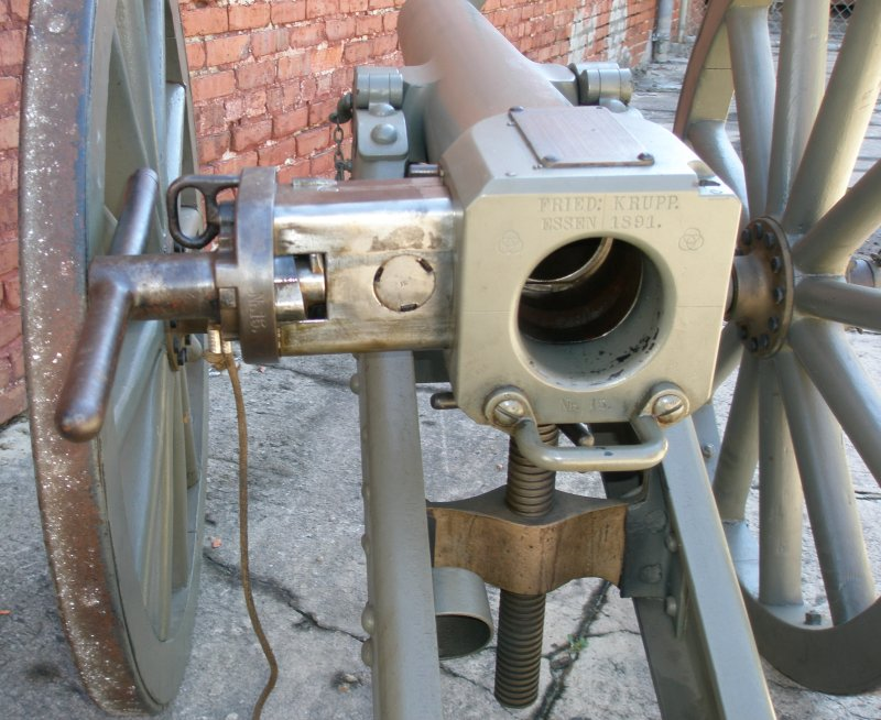 Close Up of the Breech