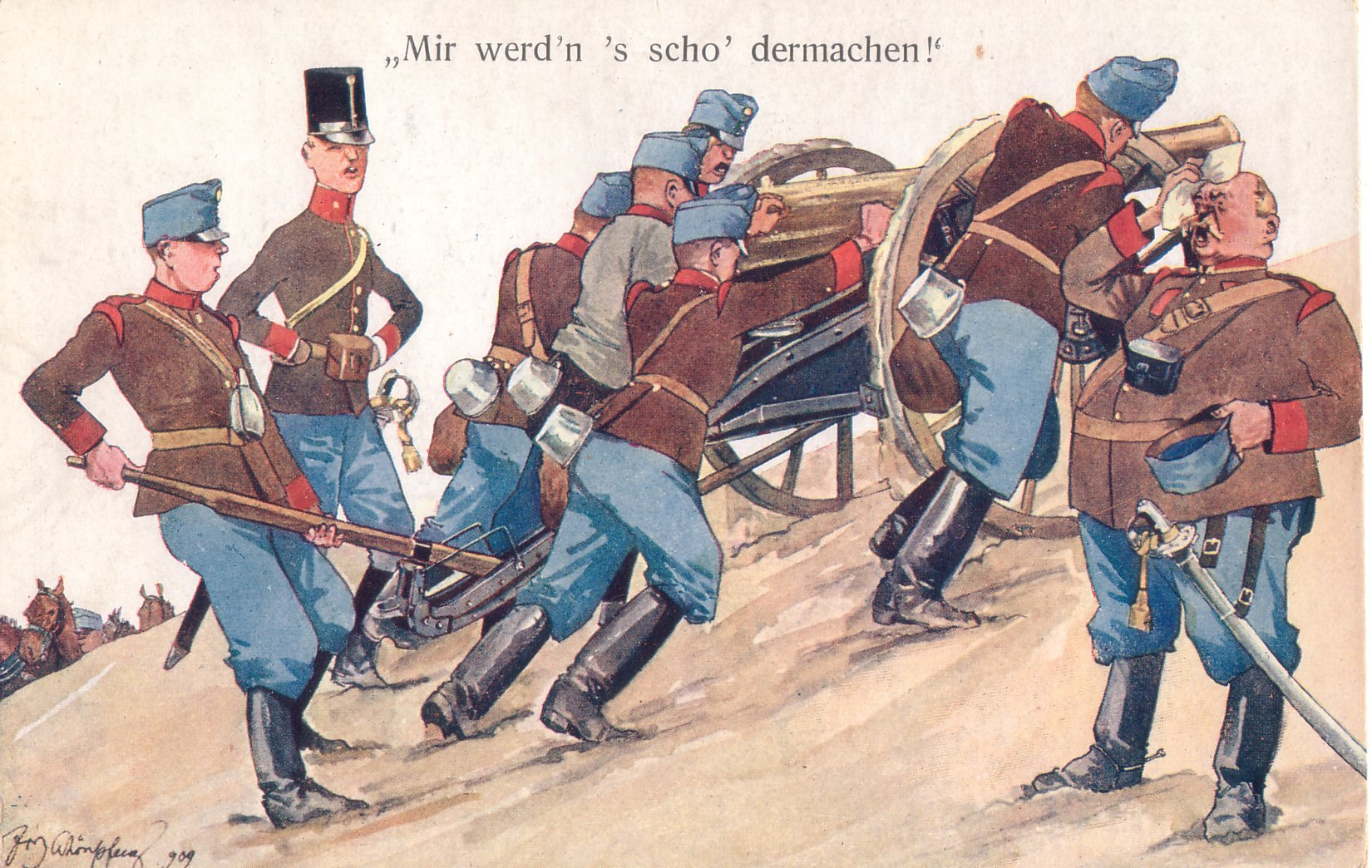 Austro-Hungarian Artillery Crew (I'm Already Tired!)