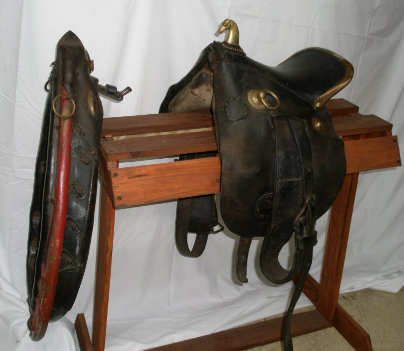 Civilian Draft Horse Saddle & Collar