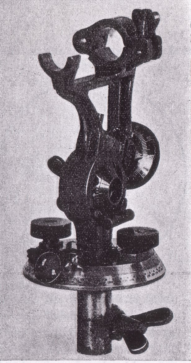 Foot Artillery Forward Observer Scope Base (S.F. 09)