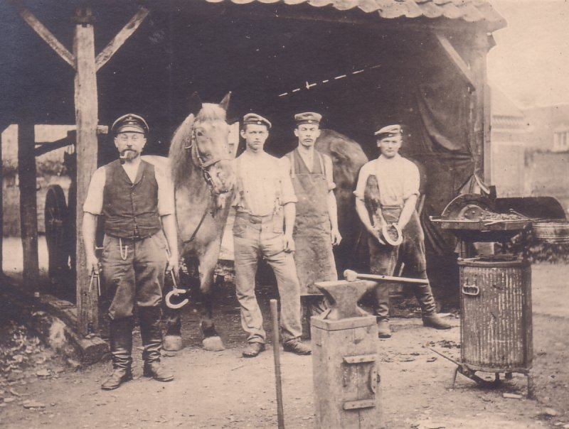 WW1 Ferrier Shop