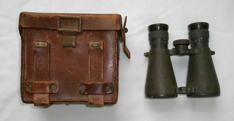 08 Binoculars with case