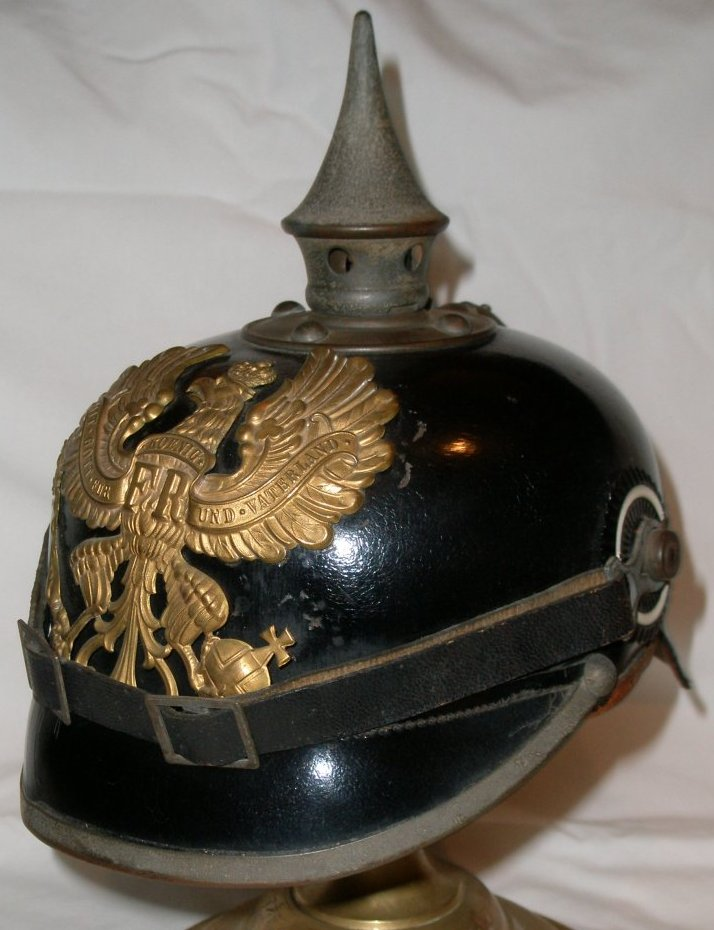 Prussain Helmet with the Prussian cockade