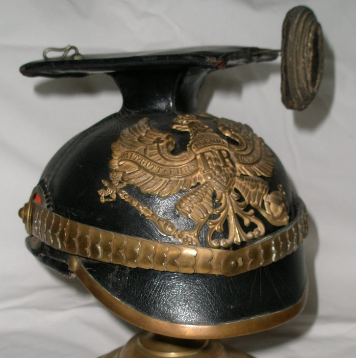 Prussian Ulan Officer's Helmet
