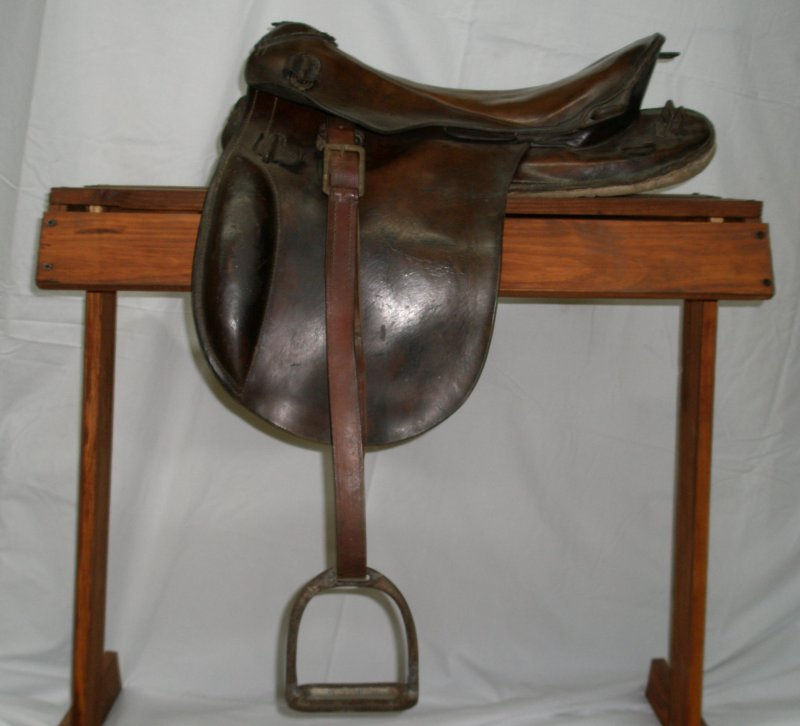 WW1 German Saddle for an Individual Soldier