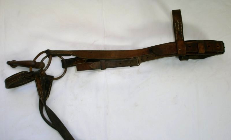 WW2 German Artillery Bit & Bridle