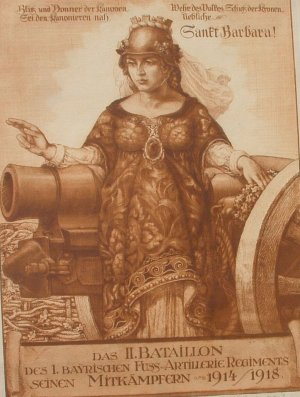 Saint Barbara (Patron Saint of Artillery)